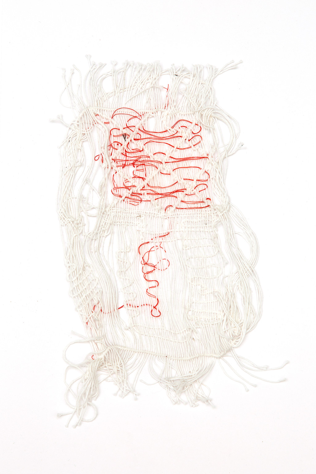 Marie Ilse Bourlanges I don't like you and I don't like weaving [text & weavings]